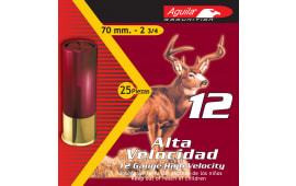 "Aguila 1CHB1208 Hunting High Velocity 12GA 2.75"" Lead 1-1/4oz #8 Shot - 250sh Case"