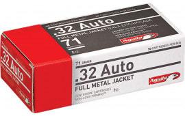 Aguila 1E322110 32 ACP 71  GR Full Metal Jacket - 50rd Box