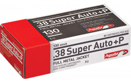 Aguila 1E382112 38 Super +P 130 GR Full Metal Jacket - 50rd Box