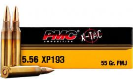 PMC 556XBP Battle Pack Bulk Rifle Ammo 5.56 NATO FMJ Boat Tail 55 GR - 200rd Battle Pack