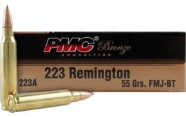 PMC 223ABP Battle Pack Bulk Rifle Ammo 223 Rem FMJ Boat Tail 55 GR - 200rd Battle Pack