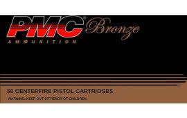 PMC 9A Bronze Target 9mm 115 GR FMJ - 50rd Box