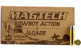 MagTech 45F Cowboy Action 45 Colt (LC) 200 GR Lead Flat Nose - 50rd Box
