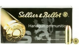 Sellier & Bellot 10A Handgun 10mm 180 GR Full Metal Jacket - 1000 Round Case