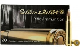 Sellier & Bellot SB222A Rifle 222 Remington 50 GR Soft Point - 20rd Box