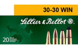 Sellier & Bellot SB3030A Rifle 30-30 Win 150 GR Soft Point - 20rd Box