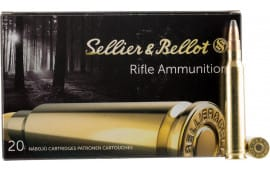 Sellier & Bellot SB300B Rifle Hunting 300 Win Mag 180 GR Spce (Soft Point Cut-Through Edge) - 20rd Box