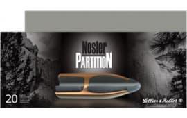 Sellier & Bellot SB308NSRA Rifle Hunting 308 Win/7.62 NATO 180 GR Nosler Partition - 20rd Box