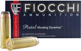 Fiocchi 44A500 Shooting Dynamics 44 Remington Magnum 240 GR Jacketed Soft Point - 500rd Case