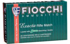 Fiocchi 308MKD Exacta 308 Winchester/7.62 NATO 175 GR Sierra MatchKing Bthp - 20rd Box
