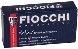 Fiocchi 9APBHP Pistol Shooting Dynamics 9mm 124 GR Jacketed Hollow Point - 50rd Box