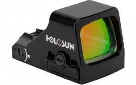 Holosun HS 407K-X2 1x 6 MOA Red Dot Black Hardcoat Anodized