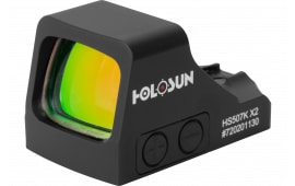 Holosun HS 507K-X2 1x Multi-Reticle Black Hardcoat Anodized