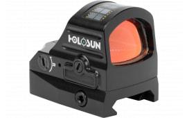 Holosun HE 407C-X2 1x 2 MOA Green Dot Black Hardcoat Anodized