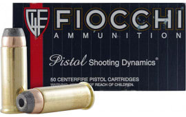 Fiocchi 44SA500 Shooting Dynamics 44 Special 200 GR Semi-Jacketed Hollow Point - 50rd Box