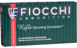 Fiocchi 22250B PSP 22-250 Remington Pointed Soft Point 55 GR - 20rd Box