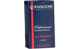 Fiocchi 22FLRN Shooting Dynamics 22 LR 40 GR LRN - 50rd Box