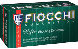 Fiocchi 7MM08B Shooting Dynamics 7mm-08 Remington 139 GR Boat Tail Soft Point - 20rd Box