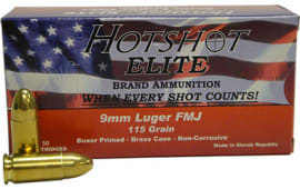 Century Arms AM1904 Hotshot 9mm Luger 115  GR Full Metal Jacket - 50rd Box