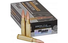 Sig Sauer E308M220 Match Grade 308 Winchester/7.62 NATO 175 GR Match - 20rd Box