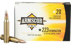 Armscor FAC2231N .223/5.56 NATO 55  GR Full Metal Jacket - 20rd Box