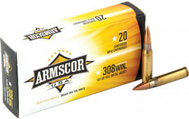 Armscor FAC300AAC1N 300 AAC Blackout/Whisper (7.62X35mm) 147  GR Full Metal Jacket - 20rd Box