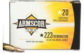 Armscor AC2232N .223/5.56 NATO 55 GR PSP Interlock BT - 20rd Box