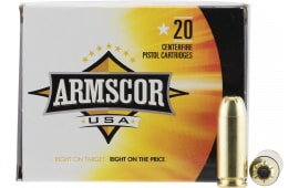 Armscor FAC103N 10mm Automatic 180 GR Jacketed Hollow Point - 20rd Box