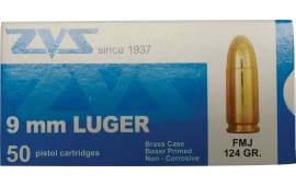 Century AM1903 New 9mm Luger 124  GR FMJ - 50rd Box