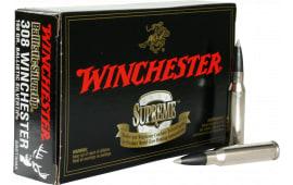 Winchester Ammo SBST308A Supreme 308 Winchester/7.62 NATO 168 GR Ballistic Silvertip - 20rd Box