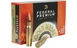 Federal GM308M Gold Medal 308 Winchester/7.62 NATO 168 GR Sierra MatchKing BTHP - 20rd Box