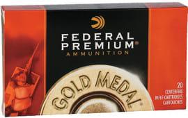 Federal GM3006M Premium 30-06 Spg Sierra MatchKing BTHP 168 GR - 20rd Box