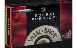 Federal P7WBTT1 Vital-Shok 7mm Weatherby Magazine 160 GR Trophy Bonded Tip - 20rd Box