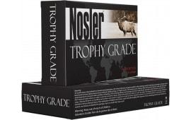 Nosler 48643 Trophy 300 Weatherby Mag 180 GR AccuBond Brass - 20rd Box