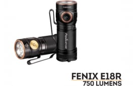 Fenix E18RXPBK E18R 750 Lumens Flashlight