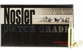 Nosler 60016 Match Grade 22 Nosler 77 GR Custom Competition - 20rd Box