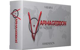 Nosler 65120 Varmageddon 221 Remington Fireball Flat Base Tip 40 GR/10Cas - 20rd Box
