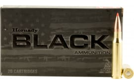 Hornady 80971 Black 308 Win/7.62 NATO 168 GR A-Max - 20rd Box