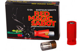 "Brenneke SL122RMS Red Magic 12 GA 2.75"" 1oz Sabot Slug Shot - 5sh Box"