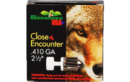 "Brenneke SL4102CE Close Encounter 410 GA 2.5"" 1/4oz Sabot Slug Shot - 5sh Box"
