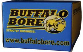 Buffalo Bore Ammunition 21C/20 Outdoorsman 10mm Automatic 220 GR Hard Cast Flat Nose - 20rd Box