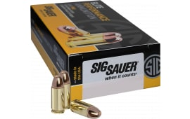 Sig Sauer E40SB2-50 Full Metal Jacket 40 S&W 180 GR FMJ 50Case/20Box - 50rd Box