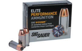 Sig Sauer E44MA1-20 V-Crown 44 Rem Mag 240 GR Jacketed Hollow Point - 20rd Box