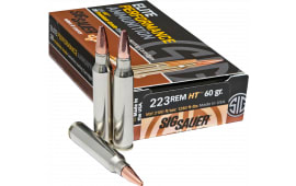 Sig Sauer E223H120 Hunting .223/5.56 NATO 60 GR Lead-Free - 20rd Box