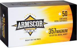 Armscor FAC3576N 357 Magazine 158  GR Full Metal Jacket - 50rd Box