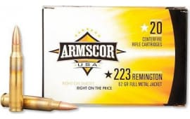 Armscor FAC2238N .223/5.56 NATO 62 GR Full Metal Jacket - 20rd Box