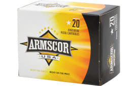 Armscor AC403N 40 Smith & Wesson (S&W) 180 GR Jacketed Hollow Point - 20rd Box