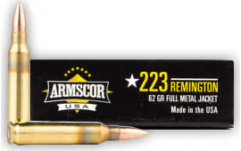 Armscor AC2234N .223/5.56 NATO 62 GR PSP Interlock BT - 20rd Box