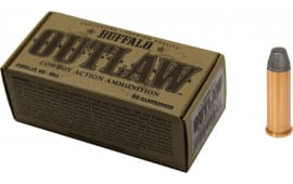 Buffalo Cartridge BCC00027 Outlaw 38 Special 125 GR Lead Round Nose Flat Point - 50rd Box