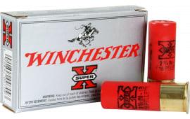 """Winchester Ammo XB121 Super-X 12GA 2.75"""" Copper-Plated Lead 16 Pellets 1 Buck - 5sh Box"""